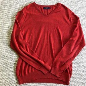 Red J Crew Men's Sweater
